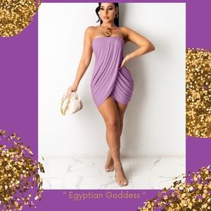 """Egyptian Goddess "" super sexy tapered dress"